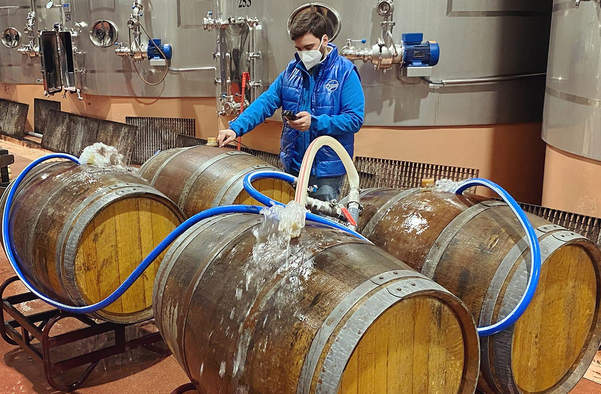 Desinfeccion Brett Barricas Depositos Vino Ozono 2