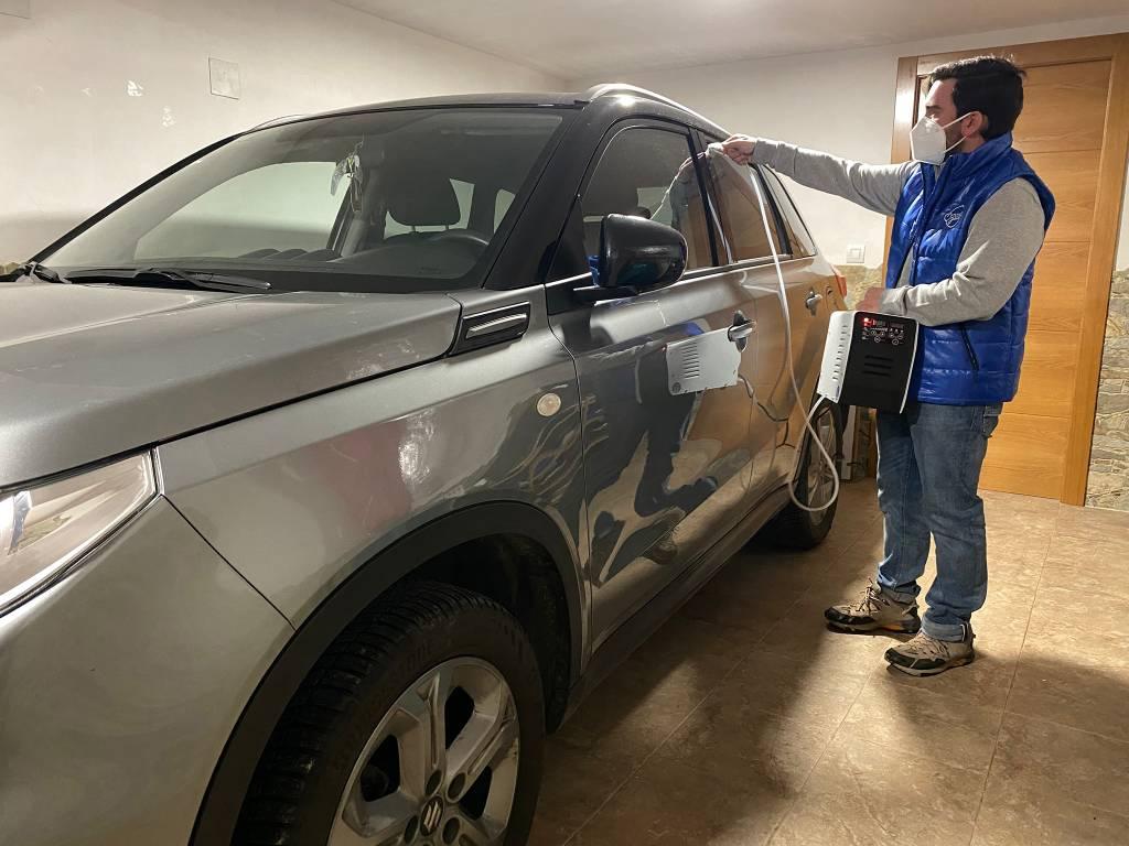 Desinfeccion Ozono Vehiculos Innovacion