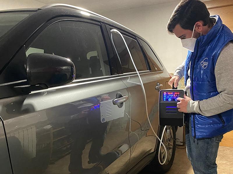 Desinfeccion Ozono Vehiculos Transporte