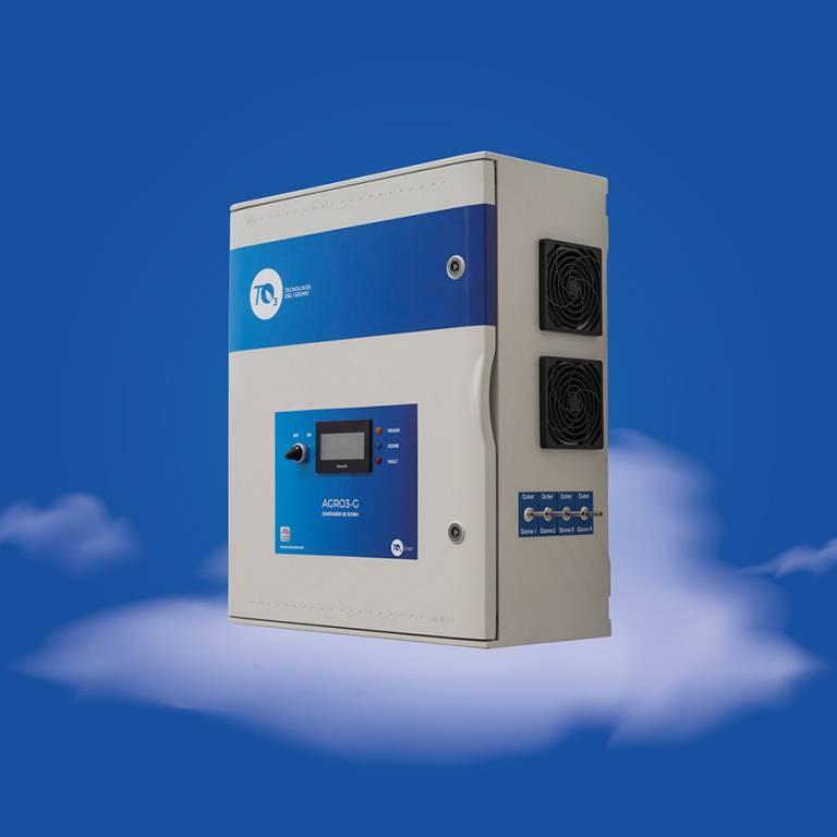 Generador Ozono Gas Agro4 G10